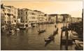 Gondolas in Venice