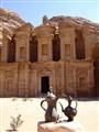 The wonderful lamp at Petra Jordan