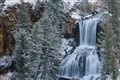 Undine Falls With Snow
