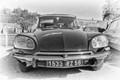 Citroen  DS 19-23, vintage car exhibition