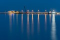 Reflections in the blue