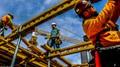 Chicago High-Rise Construction Crews