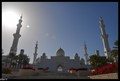 Grand Entrance Of His Highness Zayed bin Sultan Al Nahyan Masjid