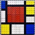 Mondrian in Legoland