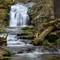 falls on a rugged trail copy