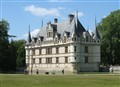 Chateau d' Azay- le - Rideau, the Loire valley, France