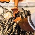 Siracusa, Sicily, seafood vendor
