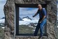 A view trough a frame