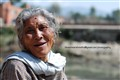 smile of an old woman