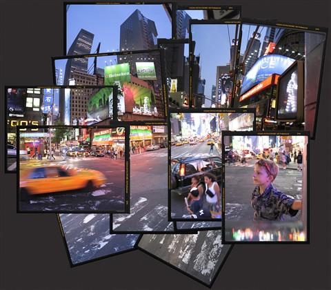 Time Square frames