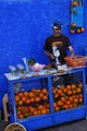Seller of oranges