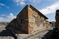 Street corner in Pompeii, Italy, 79 AD. :)