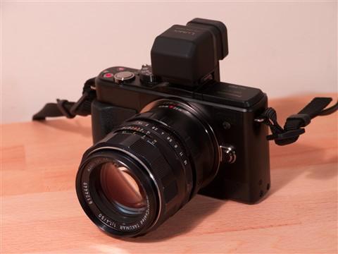 GX1 Pentax 50mm f1.4