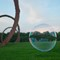 Bubble Art: Taken on the grounds of the North Carolina Museum of Art