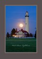 Wind Point Lighthouse Fine Art Poster A