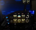 Simulated night flight