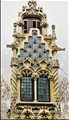 Gaudi's Window. Barcelona