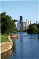 Chicago from the north pond