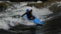Kayak On Whitewaters