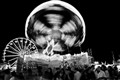B&W of the Fair