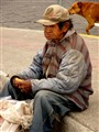 Equador street person.