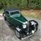 High perspective 1934 Jaguar SS1