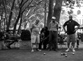 Petanque Players at Bryant Park, New York