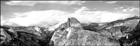 View from Glacier Point Pano B&W v2 copy