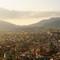 The sunbathing valley- Kathmandu: Kathmandu valley view during sunset.