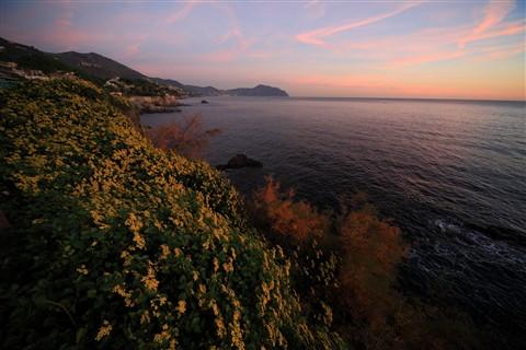 Genova passeggiata di Nervi Italy