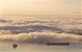 Morning Fog Over English Bay, Vancouver