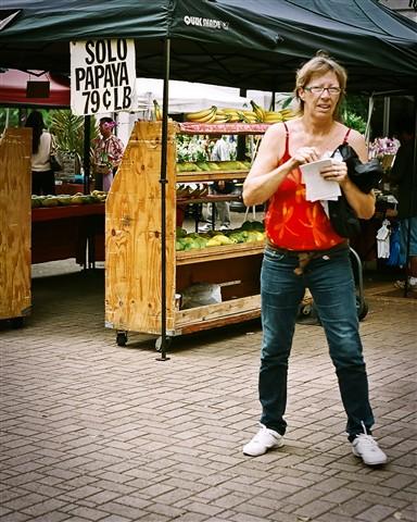 Open Market Scene