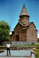 One of the oldest charches in Armenia, former USSR