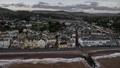 Sidmouth, Devon; an October evening.