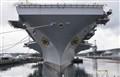 Bow Shot, USS Nimitz CVN 68