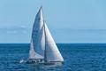 Sailing on the Atlantic off Rhode Island