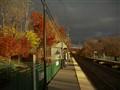 Storm over RR station