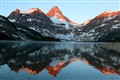 Mt Assiniboine at Sunrise