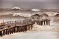 Hurricane Irene Pier