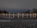 Luminaries on Lake of the Isles