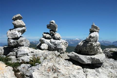 Weisshorn Mountain Top