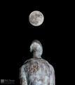Super Moon Over Man