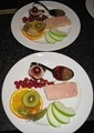 A homemade entrée