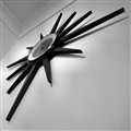Star Clock BW