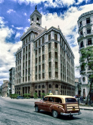 Bacardi offices Havana