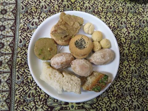 Sweet Iranian Sweets Biscuits Biscuit Shirini Keks Kekse Yazd