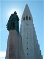 Leif Eriksson and Hallgrímskirkja