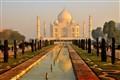 Early morning at Taj Mahal