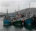 Fishing boats at Castletownbeare