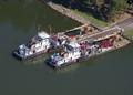 USCG bouy tenders: WLR  Chippewa & Cimerron, Paris Landing,, TN